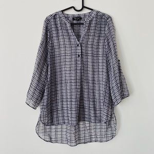 3/15$ RW&CO. Casual lightweight patterned dress